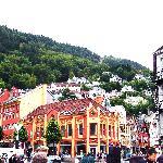 Bergen ==> Percorso della funicolare