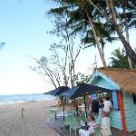 The Beach Shack Cafe at Kewarra Beach Resort