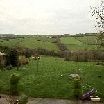 This is the tranquil view and where my mother played as an evacuee.