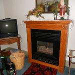Fireplace/TV