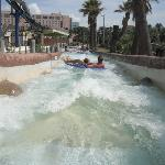 going down the rapids !