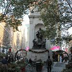 Statue at Herald Square