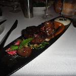 wagyu beef entree one night - delicious!