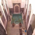 View from outside the 2nd floor twin suite (Berber room)