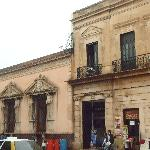 Hostal Zocalo is part of the incredibly beautiful architecture around the main square