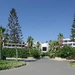 Azia Resort Entrance
