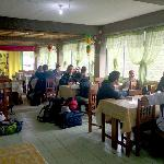 The Dining Room at the Halfway Lodge in Banaue