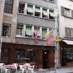 Street view of Hotel St Gervais
