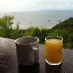 Breakfast view