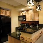 Suites have Full Kitchens