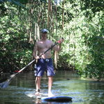 Paddling through the Pinones Estuary