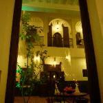 Le Riad sous un autre angle - en soirée