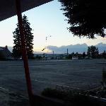 fairgrounds in walking distance across street