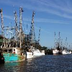 Shrimp Boats, Darien GA