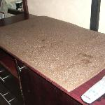 Counter top above the rerigerator