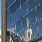 reflections on the Edmonton city centre