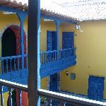 Vista desde la entrada de la habitación.
