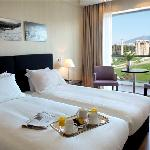 Superior Room with view to the temle of Zeus