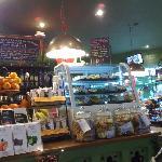 Inside Alpine Coffee Shop, Betwys-y-coed