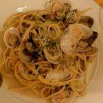 Clams with Spaghetti