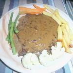 Peppered steak mmmmmm highly recommended