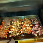 shish-kebab. & lamb chops