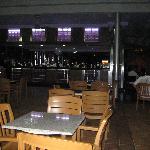 Night time bar