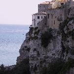 houses on the cliffs