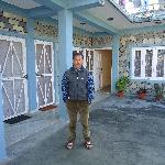 Mr. Pun in his guest house