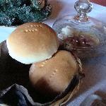 朝食のパン(これだけ!)