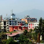 A view from the Thamel Hotel