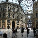 interno galleria Umberto I