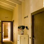 corridoio camere hotel Noce