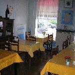 La salle à déjeuner