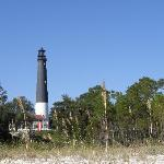 Pensacola Lighthouse looking for the beach