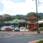 Nearby market place