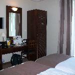 Chambre twin, séjour en 2010