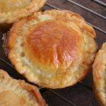 Delicious home-made chicken pies...YUM!