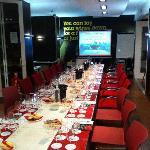 The Wine Cellars, the venue