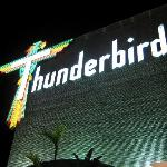 the famous thunderbird sign