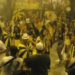 Samba school rehearsal Sao Clemente