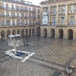 Plaza Constitucion from the Balcony 2