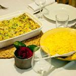 Lasagna and Risotto