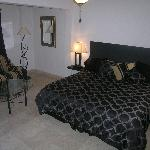 Marina Sol E 203 Master Bedroom with Futon Couch