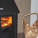 Gorgeous log burner