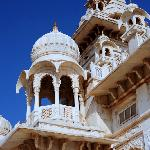 Intricate Architectural Detail of the White Palace