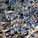 Jodhpur - the Blue City - from Fort Mehrangarh