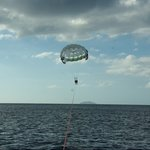 Flying Fish Parasail Photo
