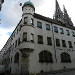Exterior of Hotel Bischofhof