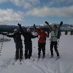 Backcountry skiing in Yellowstone Park!